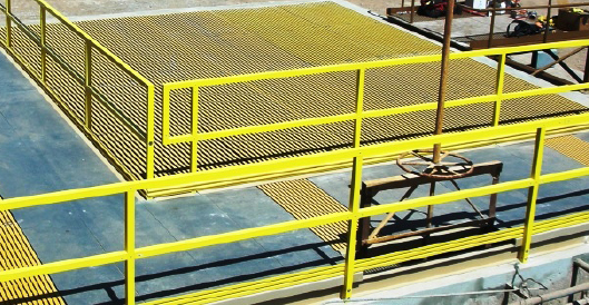 Fiberglass Pultruded And Molded Grate